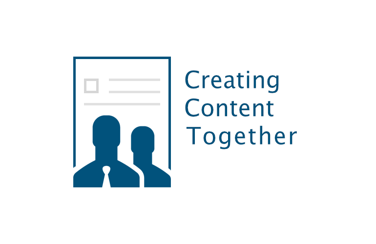 creating content together logo